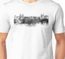 Dijon skyline in black watercolor Unisex T-Shirt