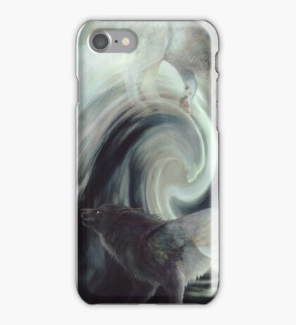 Nothing is ever just black or white iPhone Case/Skin