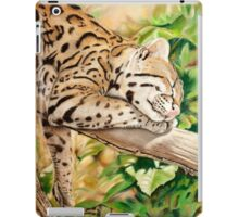 Sleeping Ocelot iPad Case/Skin
