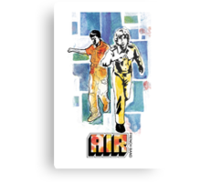 Air - French Band Metal Print