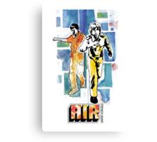 Air - French Band Canvas Print