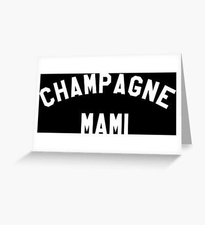 Campagne Mami - White Greeting Card
