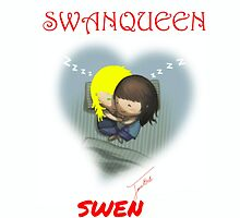 SWEN - SWANQUEEN CUDDLING TIME by janieb18