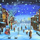 A Christmas Carol Scrooge ghost of Christmas present by gordonbruce