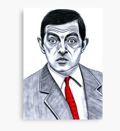Mister Bean Canvas Print