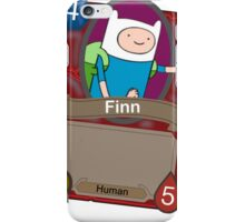 Adventure time Hearthstone alt iPhone Case/Skin