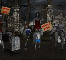 Zombie Protest by Cue-Fanfare