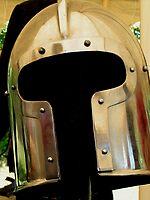 Medieval Barbuta helmet by patjila