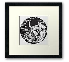 The Kraken!  Framed Print