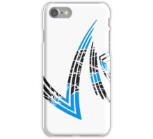 kratzer cool vip logo design striche linien muster very important person  iPhone Case/Skin