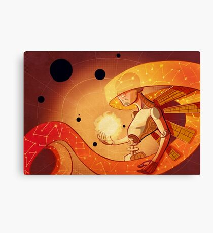 The Orrery Canvas Print