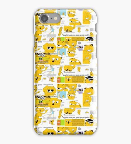 Garfield!!!! iPhone Case/Skin