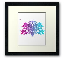 Colorful Ambrosia Baroque T-Shirt by Cyrca Originals  Framed Print