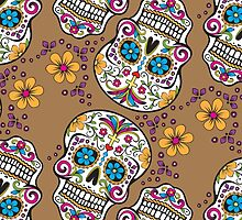 Sugar Skull TAN by HolidaySwagg