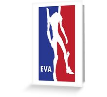 Evangelic Varsity Athletics Greeting Card