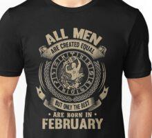 Gift for birthday in February christmas shirt Unisex T-Shirt