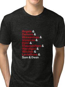 Supernatural Ampersand Tri-blend T-Shirt
