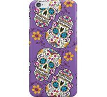 Sugar Skull PURPLE iPhone Case/Skin