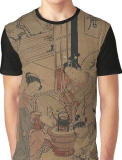 Maple leaves - Harunobu Suzuki - 1767 Graphic T-Shirt