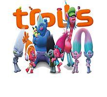 Trolls Movies Photographic Print