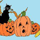 Spooky Cat by redqueenself