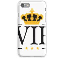 könig krone king logo symbol wappen vip cool design wichtig promi  iPhone Case/Skin