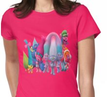 trolls Womens Fitted T-Shirt