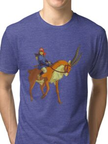 Ashitaka & Yakul Tri-blend T-Shirt