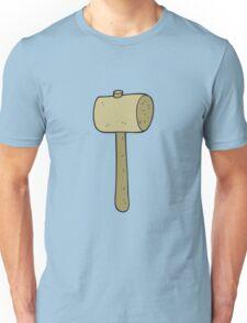 cartoon wooden mallet Unisex T-Shirt