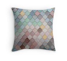 Diamond Shape Colorful Pattern Throw Pillow