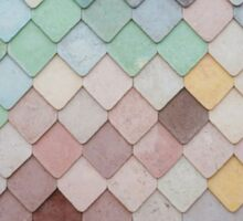 Diamond Shape Colorful Pattern Sticker