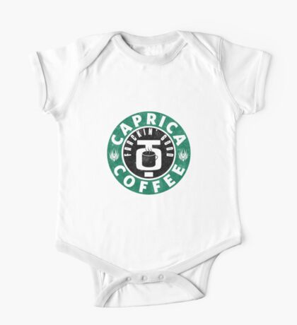 Caprica Coffee - green One Piece - Short Sleeve