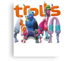 Trolls cartoon Canvas Print