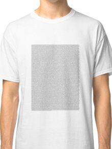 The Bee Movie Script Classic T-Shirt