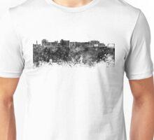 Duluth skyline in black watercolor Unisex T-Shirt