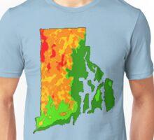 Physically Rhode Island Unisex T-Shirt