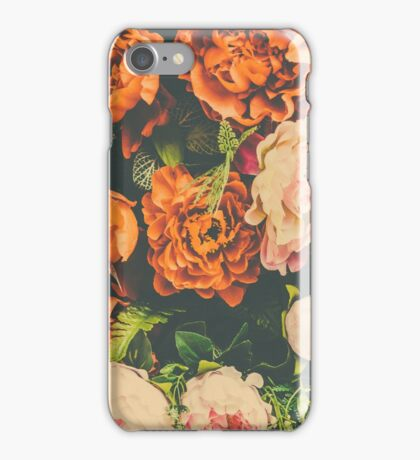 Roses Pattern Floral iPhone Case/Skin