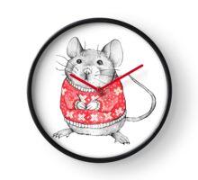 A Festive Mouse Clock