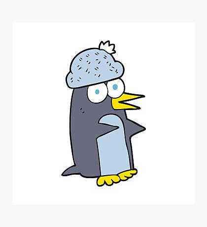 cartoon penguin Photographic Print