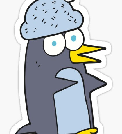 cartoon penguin Sticker