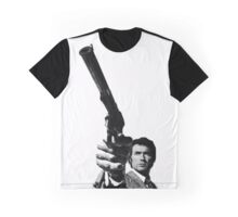 Dirty Harry Pointing a gun Graphic T-Shirt