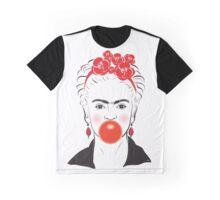 Friday Bubble Gum Portrait illustration Graphic T-Shirt