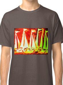 Yacht Regatta Red Classic T-Shirt