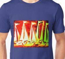 Yacht Regatta Red Unisex T-Shirt