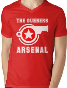 Arsenal - The Gunners - Gooners Mens V-Neck T-Shirt