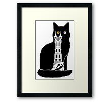 Eye of Cat or Sauron Framed Print