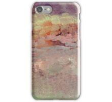 Sunset Impressionistic Landscape Design iPhone Case/Skin