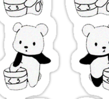 How to be a Panda Sticker