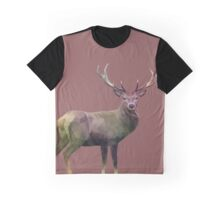PolyArt - Deer Graphic T-Shirt