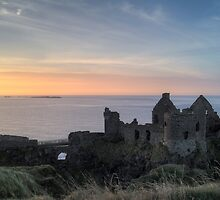 Dunluce Castle Ruin by MarcoBell